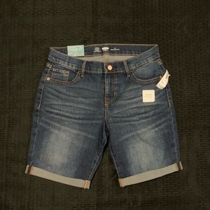 NWT Old navy Bermuda jean shorts